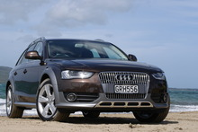 The A4 Allroad has a powertrain combination that has not previously been available in the model range. Photo / David Linklater