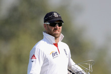 Wicketkeeper-batsman Matt Prior has galvanised the England team.  Photo / Getty Images