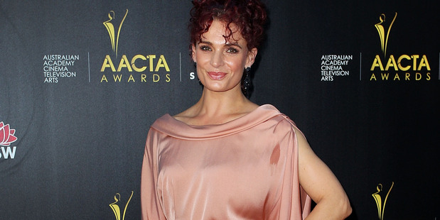 Danielle Cormack arrives at the 2nd Annual AACTA Awards. Photo / Getty Images