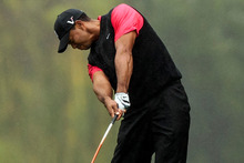 Woods has won 49 of the 53 times when he has held at least a share of the third-round lead. Photo / AP