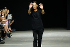 Alexander Wang is taking on a new tech-inspired colab.Photo / AP