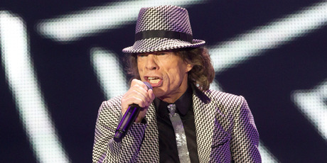 Mick Jagger of The Rolling Stones. Photo / AP
