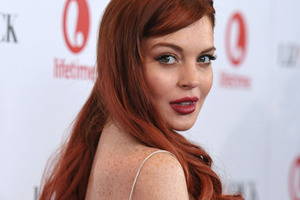Lohan infuriated her co-workers with her attitude on set. Photo / AP