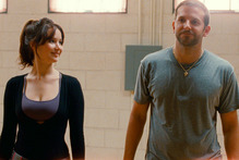 Jennifer Lawrence, left, and Bradley Cooper in a scene from 'Silver Linings Playbook'. Photo / AP