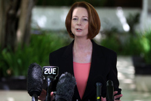 Julia Gillard has a wafer-thin majority. Photo / AP