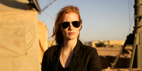 Jessica Chastain as CIA Officer Maya in Zero Dark Thirty. Photo / Supplied