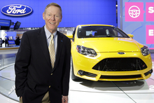 Ford president and CEO Alan Mulally says there is positive growth in the company.Picture/AP