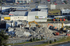 A property developer has donated 2000m3 of soil in return for 200m3 of recycled rubble from quake-damaged buildings in Christchurch. Photo / The Star