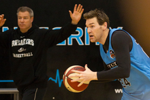Breakers' forward Dillon Boucher says the Perth Wildcats have a point to prove.  Photo / Greg Bowker