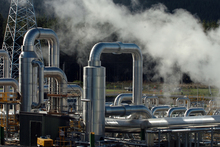 One of Mighty River Power's geothermal power stations.  Photo / APN