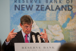 Reserve Bank governor Graeme Wheeler is the only player keeping his cards close to his chest.  Photo / Mark Mitchell