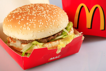 The Economist's Big Mac Index compares the price of the famous McDonald's burger in 48 countries. Photo / Martin Sykes