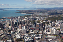 Auckland is growing by 25,000 residents each year. Photo / Brett Phibbs