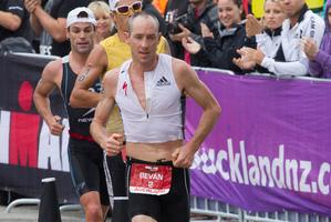 Bevan Docherty was second after Australian Christian Kemp. Photo / Greg Bowker