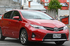 The Toyota Corolla was the nation's top selling car last year.  Photo / Bevan Conley
