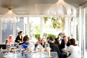 The Takapuna Beach Cafe. Photo / Babiche Martens