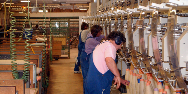 Summit Wool Spinners' Oamaru plant - the second biggest employer in the town - is to close. File photo /  Darryl May