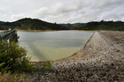 The Upper Mangatawhiri Dam in the Hunua Ranges. Photo / Greg Bowker