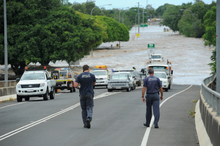 North Bundaberg is battling the highest floodwaters since records began in 1870. Photo / APN