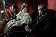 Sally Field is melodramatic and Daniel Day-Lewis is excellent in Lincoln. Photo / Supplied