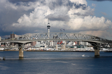 The Auckland Harbour Bridge. Photo / Dean Purcell