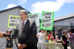 No one has ever described New Zealand First leader Winston Peters as boring, says Armstrong. Photo / Annette Lambly