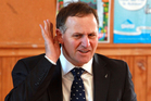 John Key need not just govern the country through a slump.  Photo / Glenn Taylor