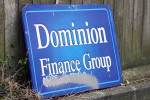 Up to $400m was lost in the collapse of the Dominion Finance Group.  Photo / NZPA