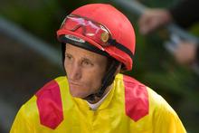 Jockey Damien Oliver. Photo / NZPA