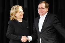 Murray McCully has hosted some of the world's top foreign ministers, including Hillary Clinton. Photo / Ross Setford