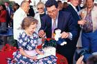 Sir Paul was a champion of Aids victim Eve van Grafhorst. Photo / NZ Herald
