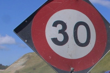 A road rage incident was sparked when tourists slowed to a speed of 30km/h on a stretch of roadworks. File photo / NZ Herald