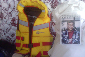 The family of Tupara Kiel are appealing for sightings of his lifejacket. Photo / Supplied