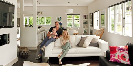 Shelley and Steven Ferguson in their home. Photo / NZH