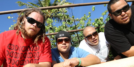 Hawaiian reggae band The Green will play at Raggamuffin Festival in Rotorua tomorrow. Photo / Supplied