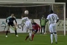 Ricardo Fernandes of Cypriot outfit Doxa Katakopias produced a simply stunning scorpion strike in his side's 2-2 draw at Alki Lamaca last weekend. Photo . Youtube.
