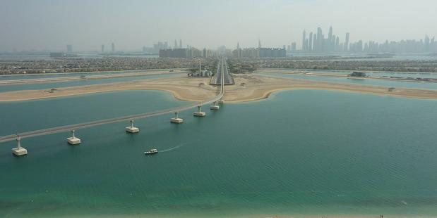 The Palm, Dubai. Photo / Megan Singleton