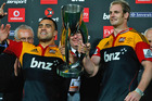 Liam Messam and Craig Clarke will co-captain the Chiefs again this season. Photo / Getty Images