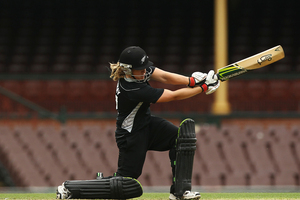 Frances Mackay made 69 from 101 balls. Photo / Getty Images