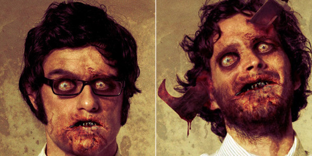 Flight of the Conchords after the zombie apocalypse.