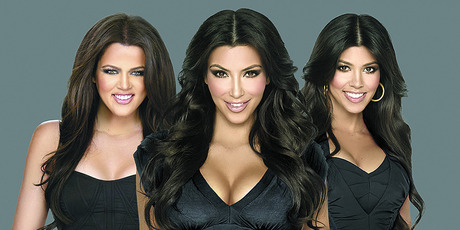 The Kardashian sisters. Photo/supplied