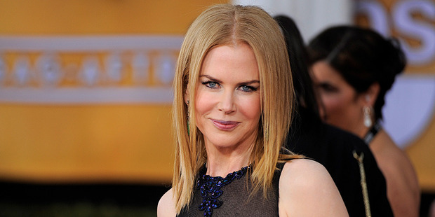 Nicole Kidman at the Screen Guild Awards in Los Angeles. Photo/AP