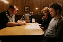 A scene from the final episode of The Sopranos. Photo/supplied