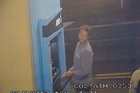 A video image shows Paul Arber at an ATM  shortly before he vanished.