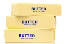 Butter must contain at least 80% milk fat to use the name. Photo / Thinkstock