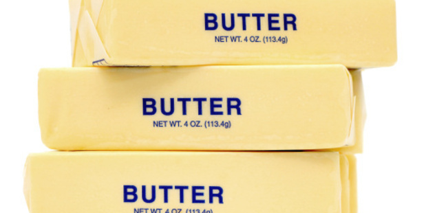 Butter consumption in the US is up more than 21 per cent since its lowest reading in 1997, while margarine consumption is down 70 per cent. Photo / Thinkstock