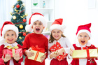 Kids are full of contagious Christmas spirit.  Photo / Thinkstock