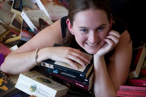 Emma Lye counts Jodi Picoult, Minette Walters and Stephen King among her favourite authors. Photo / Sarah Ivey