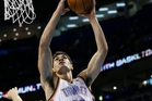 In 16 NBA games Steven Adams took the league by storm, playing like a seasoned professional. Photo / AP