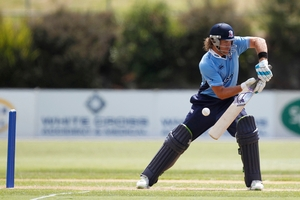 Auckland Aces batter Lou Vincent. Photo / NZPA